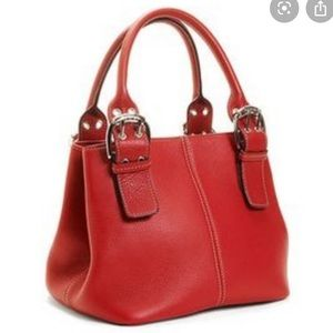 Tignanello NWOT❗️Perfect 10 French Tote Red